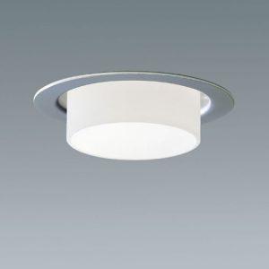 Belysning med Punktlampan. En liten infälld downlight med bländskydd i glas eller lackerad metall. Finns för LED.